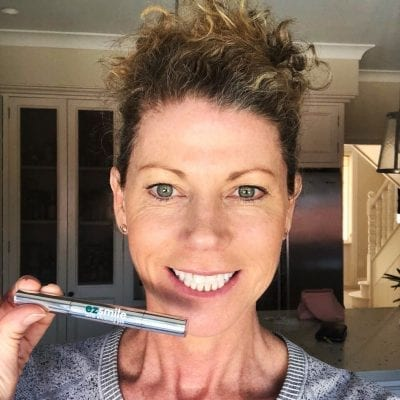 Happy with Teeth Whitening Pen
